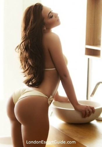Earls Court brunette Lavender london escort