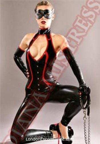 Earls Court pvc-latex Diana london escort