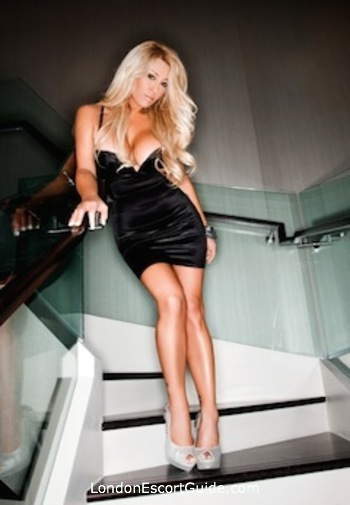 Chelsea blonde Jill Kelly london escort