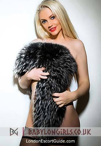 Marylebone blonde Ashta london escort