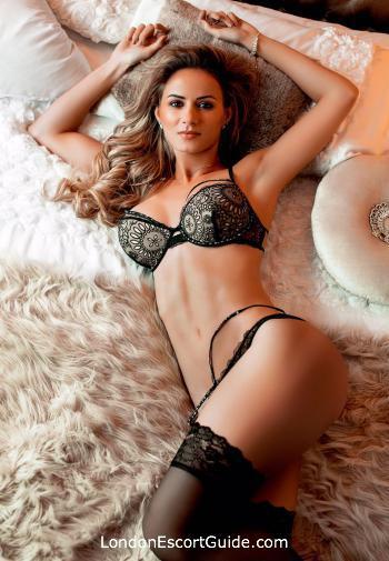 South Kensington blonde Thomasina london escort