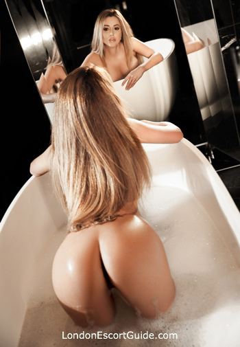 Kensington blonde Elizee london escort
