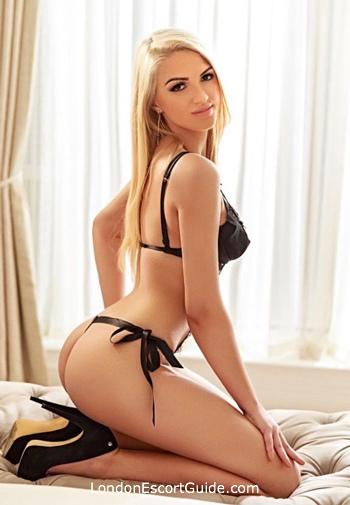 Notting Hill blonde Mila london escort