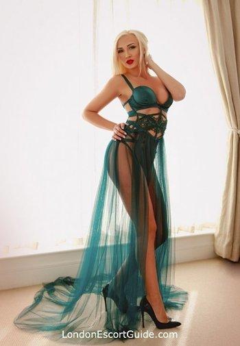 Notting Hill blonde Kaya london escort
