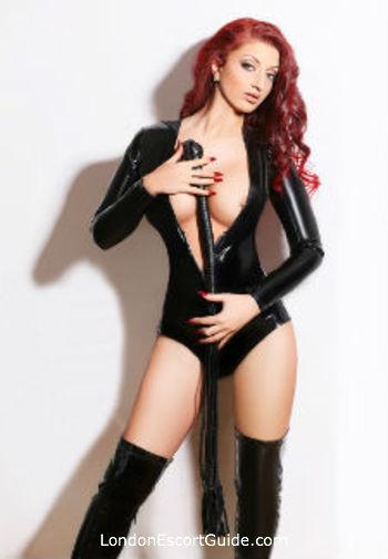 Earls Court pvc-latex Mistress Cristal london escort