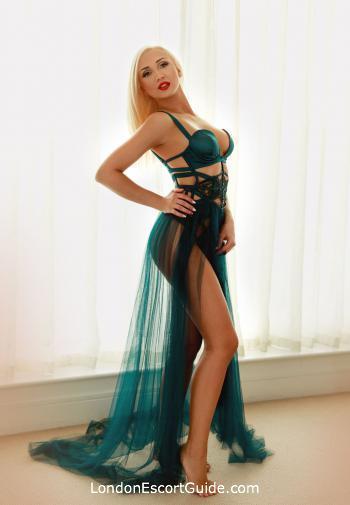 Notting Hill blonde Sibylla london escort