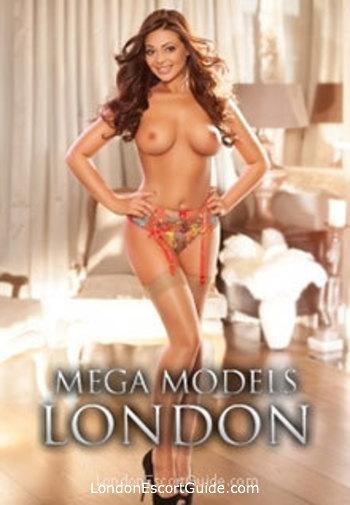 Notting Hill brunette Gabriela london escort