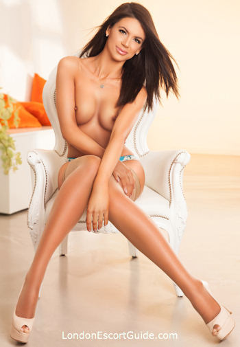South Kensington brunette Ramona london escort