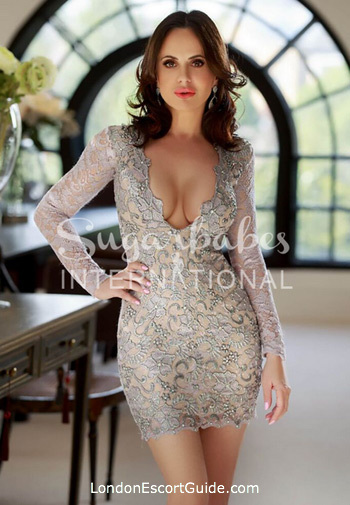 Chelsea brunette Kelly English london escort