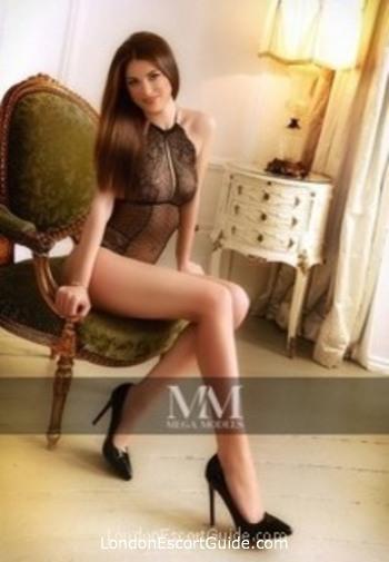 Kensington brunette Rosemere london escort