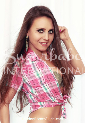 central london brunette Silvia Bianco london escort