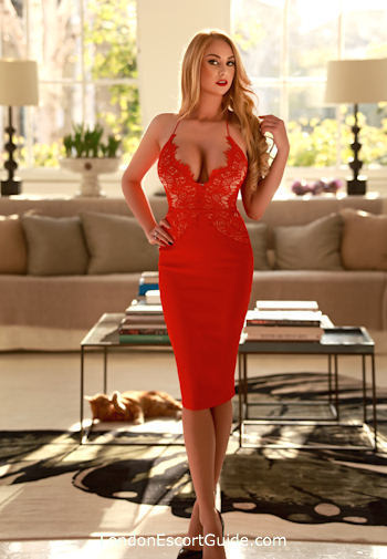 West End blonde Gaby london escort