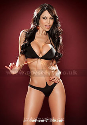 Chelsea brunette Rita london escort