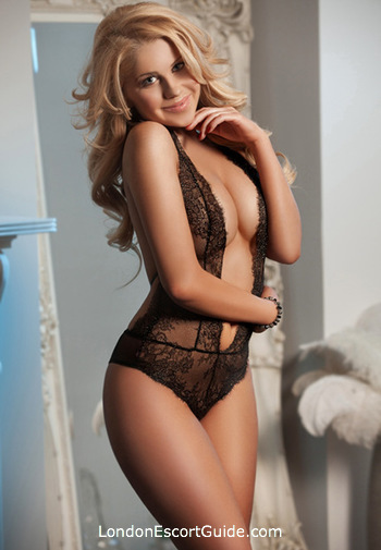 South Kensington blonde Lilly london escort