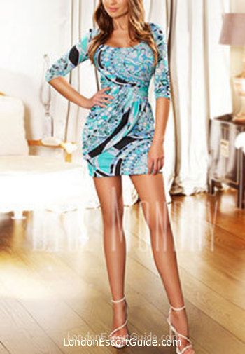 South Kensington brunette Isabel london escort
