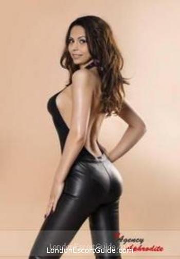 South Kensington brunette Anissia london escort