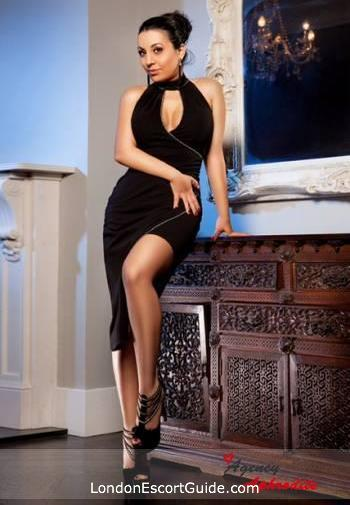 Oxford Street brunette Aleeza london escort