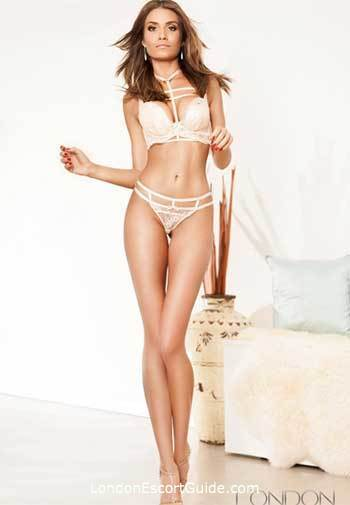 Knightsbridge brunette Ashley london escort
