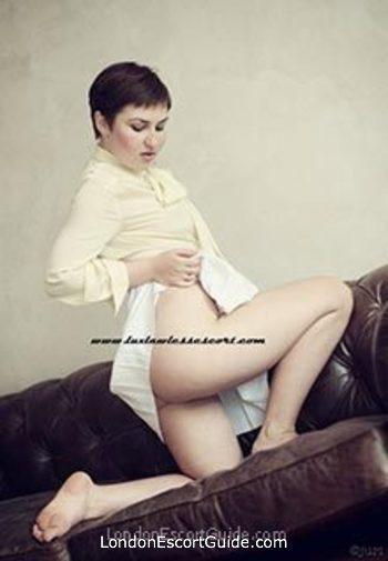 Central London brunette Lux Lawless london escort