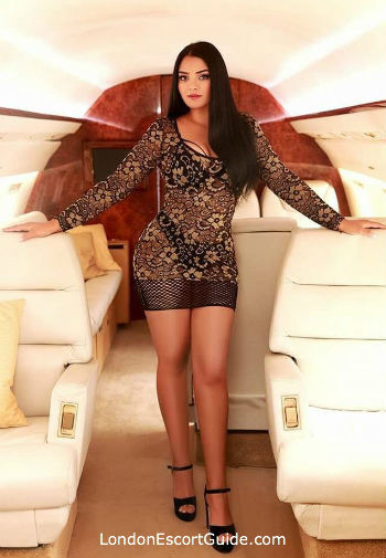 South Kensington brunette Angelica london escort