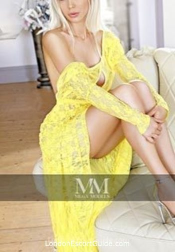 Chelsea blonde Anfisa london escort