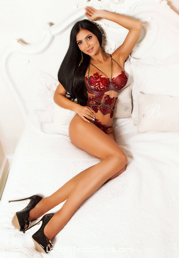 Bayswater brunette Iris london escort