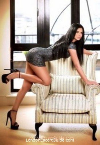 South Kensington brunette Justina london escort