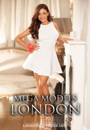 Notting Hill brunette Gabriela london escort