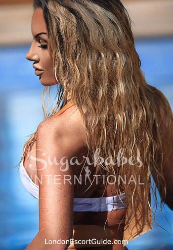 Kensington blonde Elicia Solis london escort