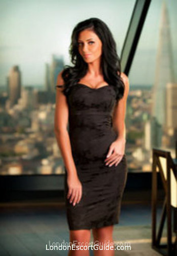 South Kensington brunette Gina london escort