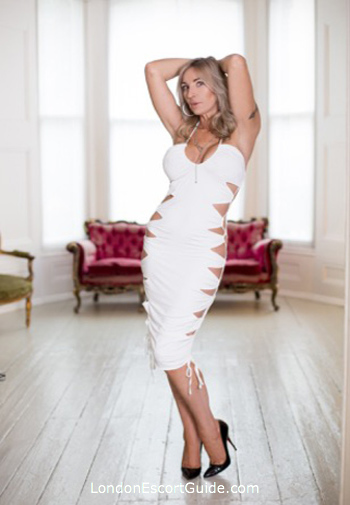 Marylebone blonde Abigail london escort