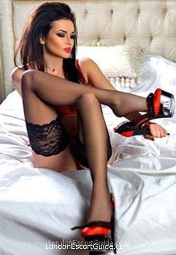 Bayswater brunette Allegra london escort