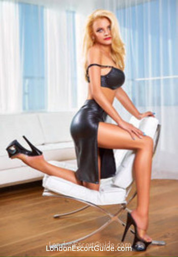 Notting Hill blonde Emely london escort
