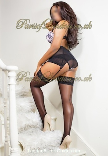 Kensington brunette Paris london escort