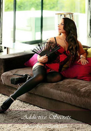 South Kensington brunette Emma london escort