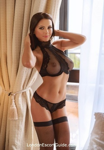 Chelsea brunette Alba london escort