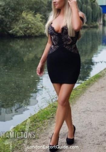Kensington blonde Lara london escort