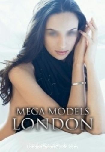 Central London brunette Sahra london escort