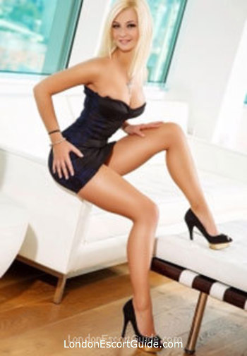 South Kensington blonde Miranda london escort