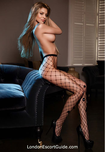Marylebone blonde Caprice london escort