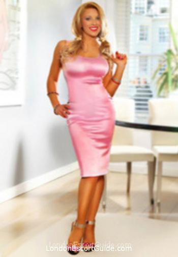 Covent Garden blonde Aziza london escort