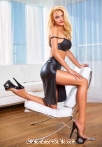 Notting Hill blonde Adelice london escort