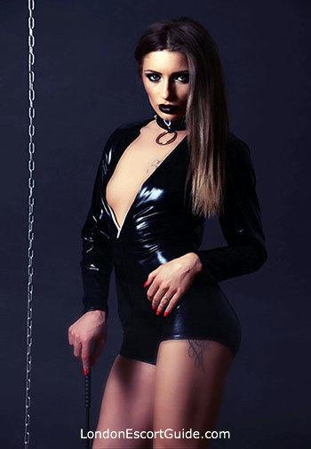 Chelsea brunette Mistress Margot london escort