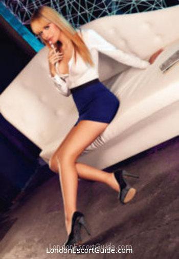 Chelsea blonde Amina london escort