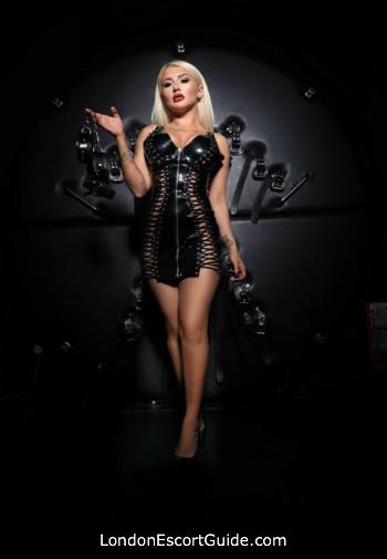 Kensington blonde Mistress Maya london escort