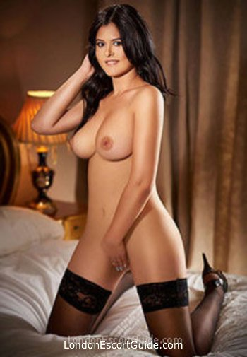 South Kensington brunette Aysha london escort