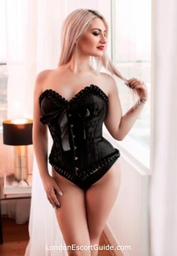Marylebone blonde Mistress Madeline london escort