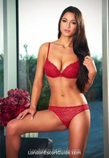 South Kensington brunette Alma london escort