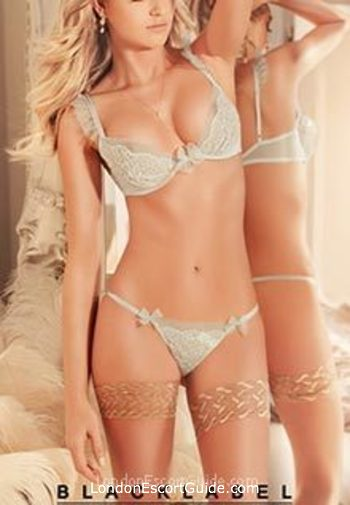 Knightsbridge blonde Yvonne london escort
