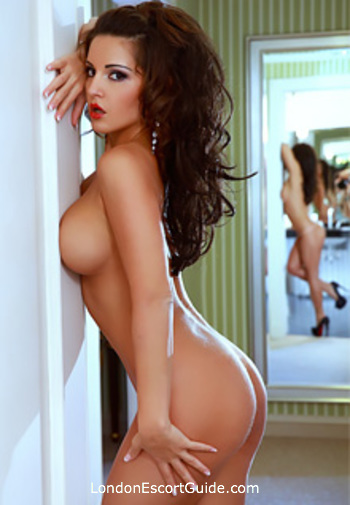 central london brunette Dominika london escort